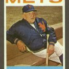1964 Topps baseball set # 324 Casey Stengel HOF New York Mets