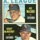 1964 Topps baseball set # 564 A.L. Rookie Stars