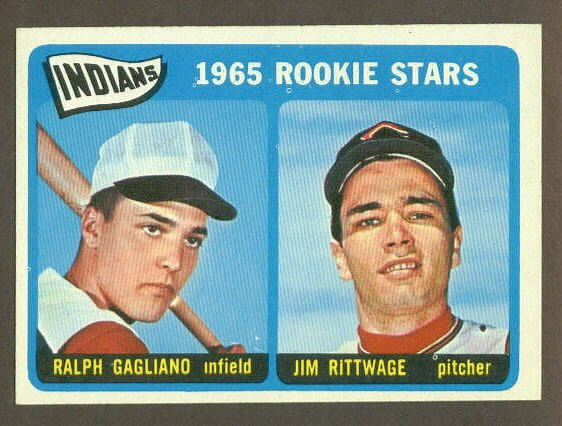1965 Topps baseball set # 501 Cleveland Indians Rookie Stars