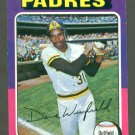 1975 Topps baseball set # 61 Dave Winfield HOF San Diego Padres