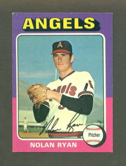1975 Topps Mini baseball set # 500 Nolan Ryan HOF California Angels