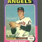 1975 Topps Mini baseball set # 500 Nolan Ryan HOF California Angels