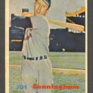 1957 Topps baseball set # 304 Joe Cunningham St. Louis Cardinals