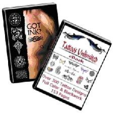 3 GUIDES OF TATTOO 750 DESIGN AWESOME 329 PAGES EBOOK