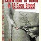 LEARN HOW TO TATTOO IN 12 EASY STEPS EBOOK MUST SEE