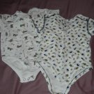 LOT OF 2 NWOT INFANT BOY'S SIZE 12M ROMPERS