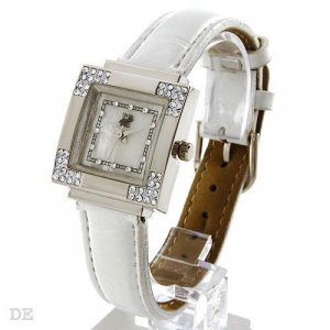 Ladies Hanslin Watch Mother of Pearl Dial With Crystals