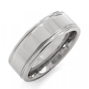 Mens Tungsten Ring Size 10
