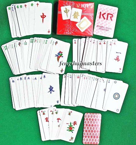Mahjong Playing Cards-Authentic Traditional Chinese Deck