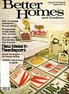 Better Homes & Gardens Magazine - August 1979