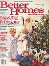 Better Homes & Gardens Magazine - December 1986