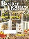 Better Homes & Gardens Magazine - October 2000