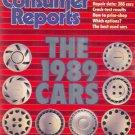 Consumer Reports Magazine - April 1989