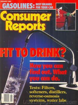 Consumer Reports Magazine - January 1990