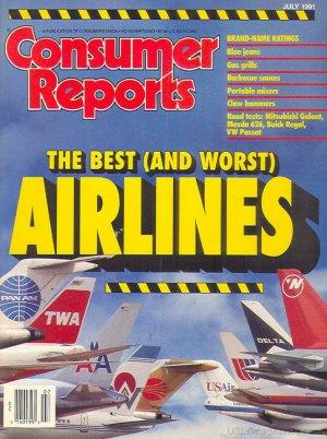 Consumer Reports Magazine - July 1991