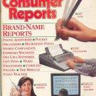Consumer Reports Magazine - November 1991