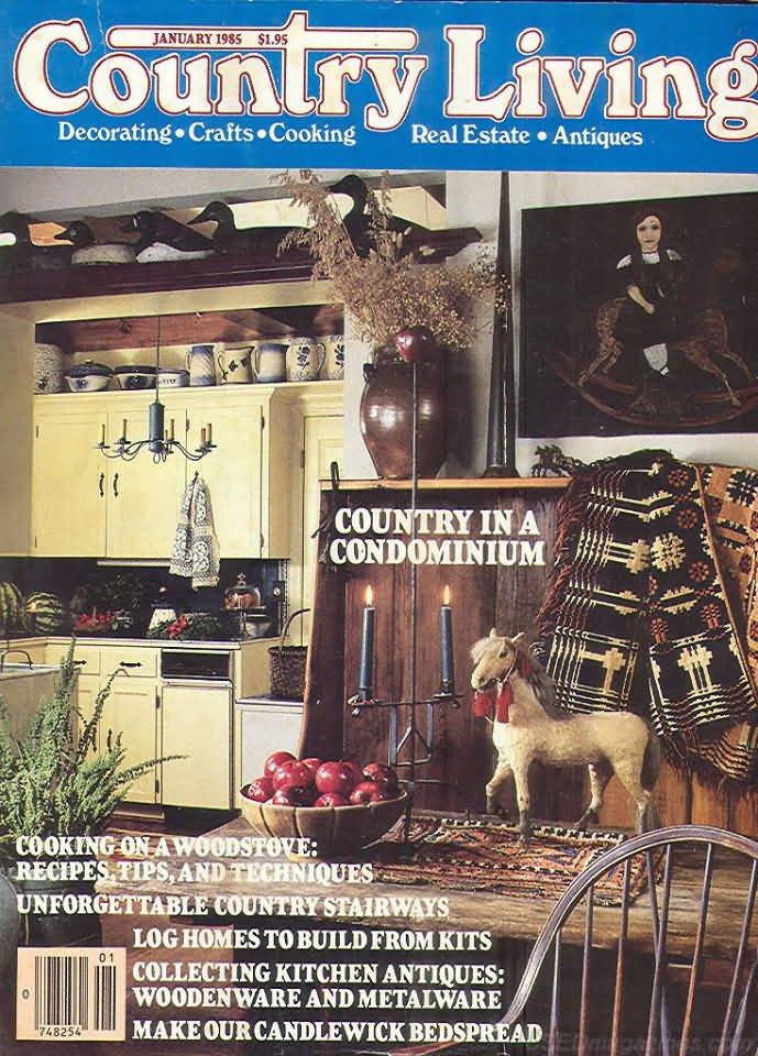 Country Living Magazine - January 1985