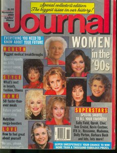 Ladies Home Journal Magazine - November 1989 - Women in the 90s