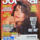 Ladies Home Journal Magazine - October 1991 - Kirstie Alley