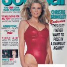 Ladies Home Journal Magazine - July 1992 - Christie Brinkley