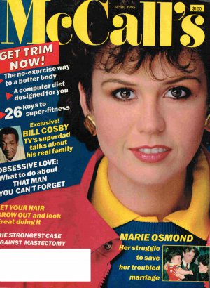 McCalls Magazine - April 1985 - Marie Osmond