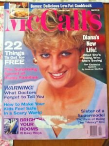 McCalls Magazine - February 1993 - Princess Diana