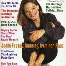 Redbook Magazine - November 1991 - Jodie Foster