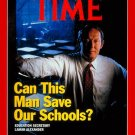 Time Magazine - September 16, 1991 - Can This Man Save Our Schools (Lamar Alexander)