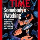 Time Magazine - November 11, 1991 - Somebody's Watching