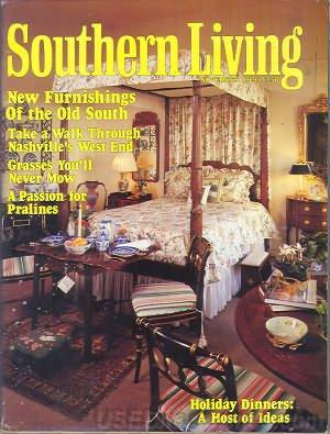Southern Living Magazine - November 1989