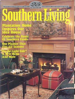 Southern Living Magazine - February 1990