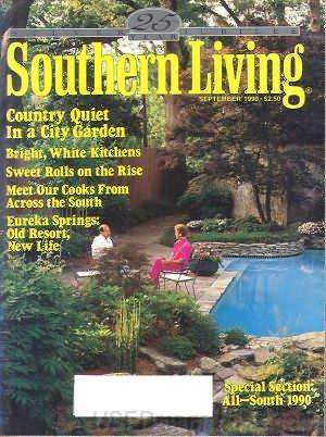Southern Living Magazine - September 1990