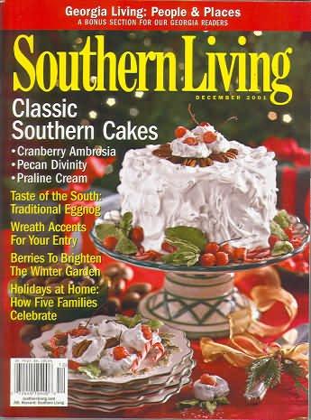 Southern Living Magazine - December 2001