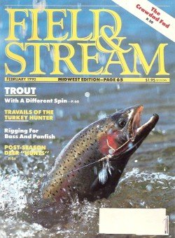 Field & Stream Magazine - February 1990