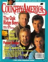 Country America Magazine - April 1992 - Oak Ridge Boys