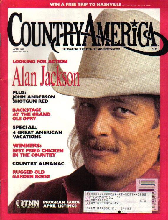 Country America Magazine - April 1991 - Alan Jackson