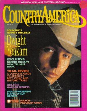Country America Magazine - March 1991 - Dwight Yoakam