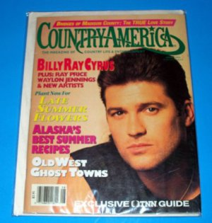 Country America Magazine - August 1993 - Billy Ray Cyrus