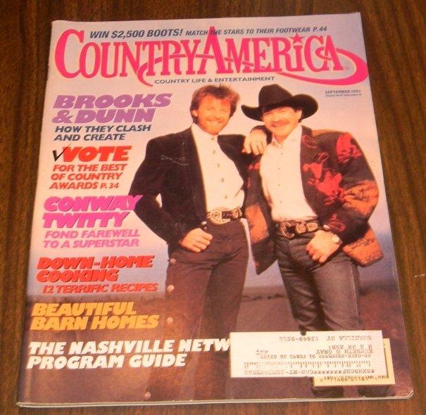 Country America Magazine - September 1993 - Brooks & Dunn