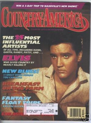 Country America Magazine - March 1994 - Elvis