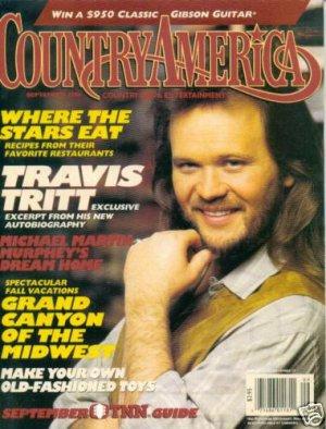 Country America Magazine - September 1994 - Travis Tritt
