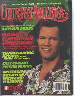 Country America Magazine - November 1994 - Randy Travis