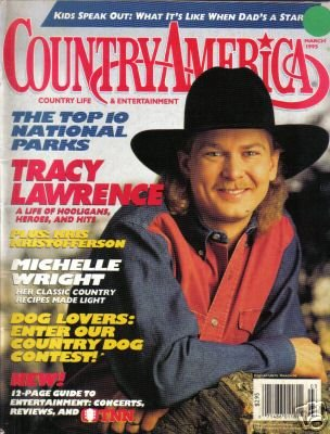 Country America Magazine - March 1995 - Tracy Lawrence