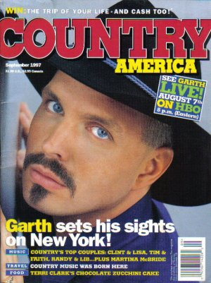Country America Magazine - September 1997 - Garth Brooks