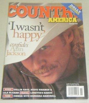 Country America Magazine - November 1998 - Alan Jackson