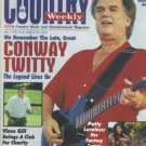 Country Weekly Magazine - June 7, 1994 - Conway Twitty