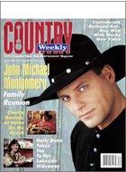 Country Weekly Magazine - July 26, 1994 - John Michael Montgomery