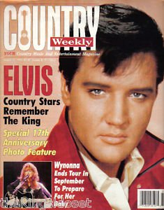 Country Weekly Magazine - August 16, 1994 - Elvis