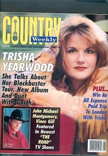 Country Weekly Magazine - February 21, 1995 - Trisha Yearwood
