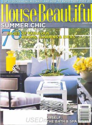 House Beautiful Magazine - August 2004